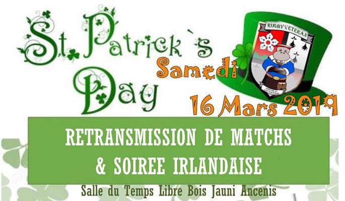 Soirée Irlandaise du 16 mars