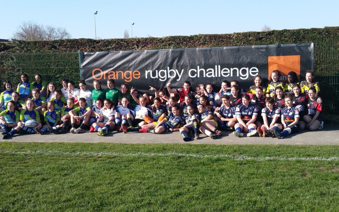 Les féminines M15 à l'Orange Rugby Challenge
