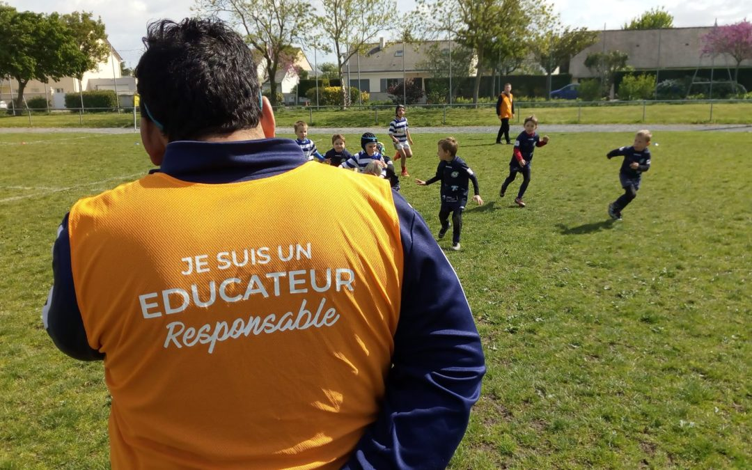 Rassemblement des écoles de rugby des Pays de Loire