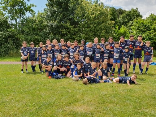 La Bretagne sourit à l'école de rugby!