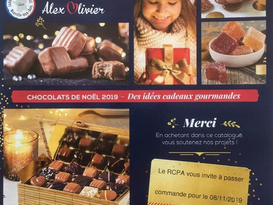 Chocolats de noël!!!