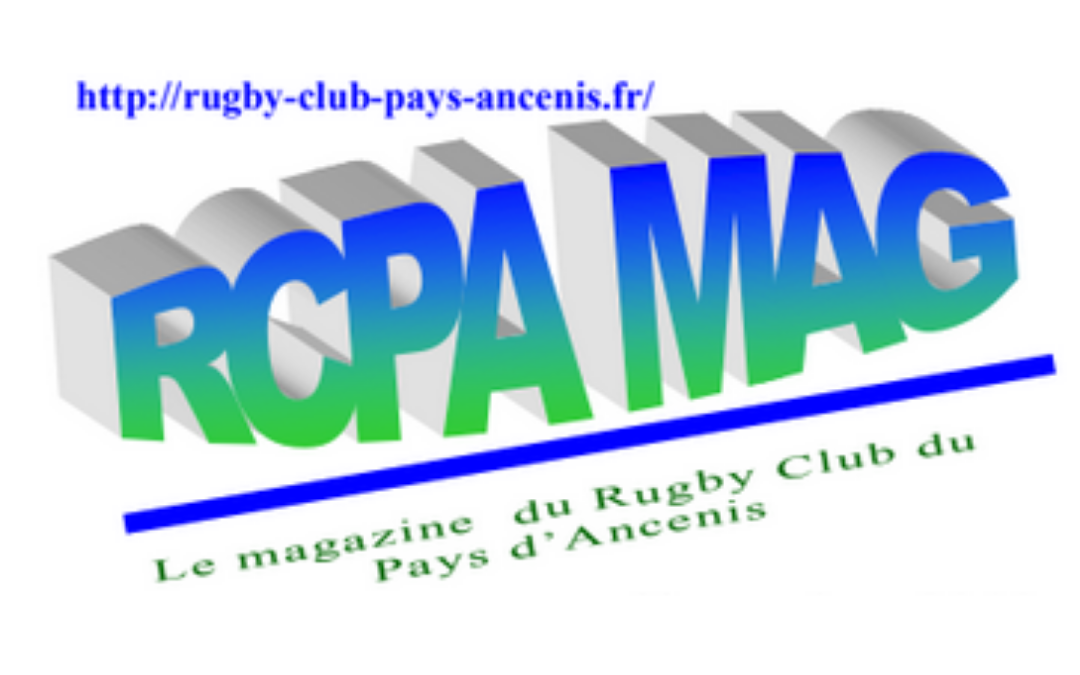 RCPA MAG N°101 – Janvier 2021