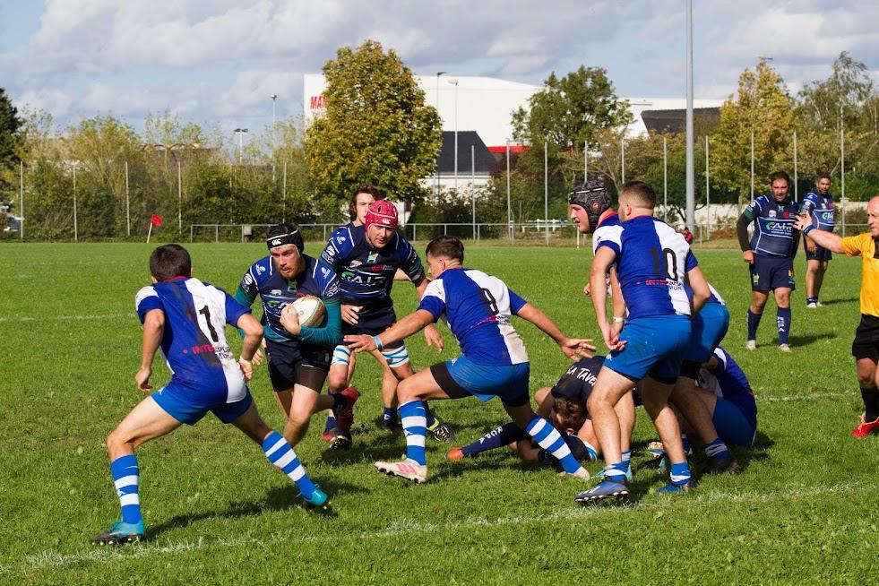Le RCPA s'incline face à Saumur Rugby !